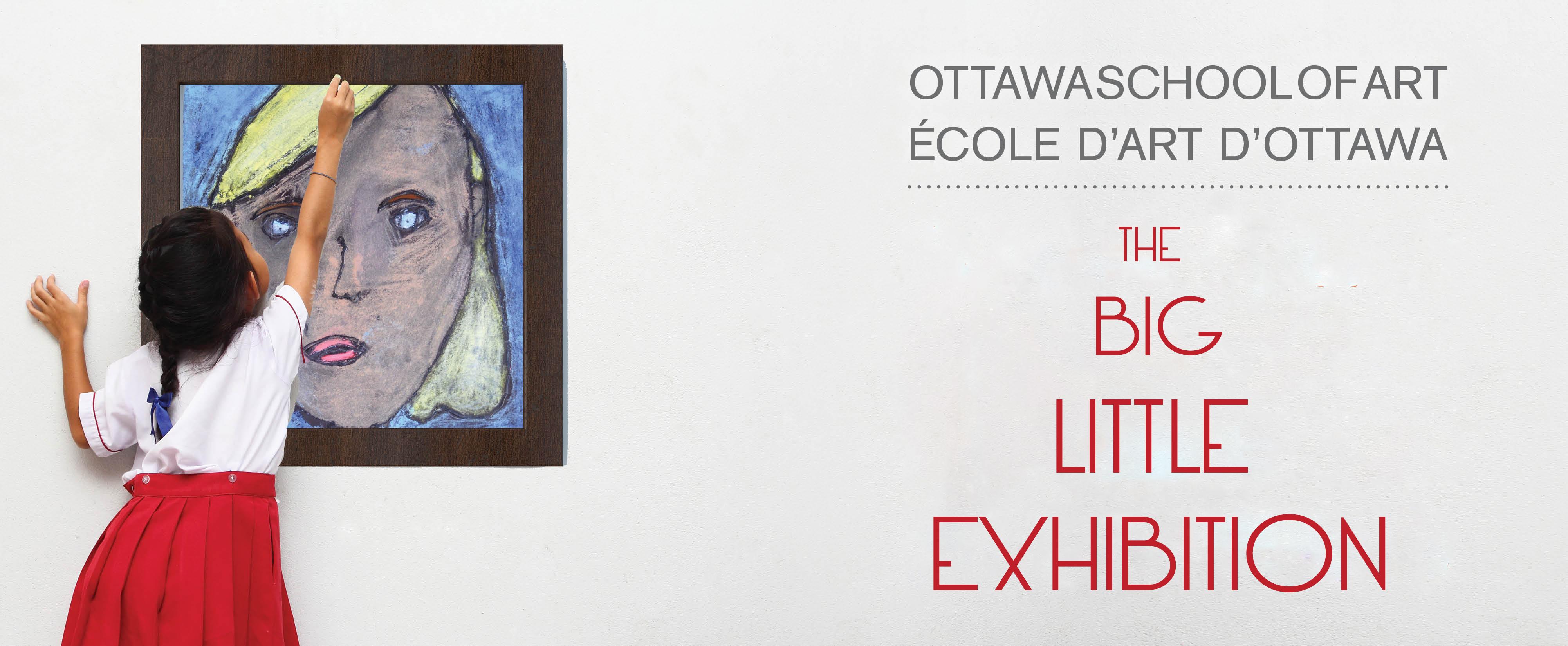 Arts Camps Ontario Big Little Exhibition Banner