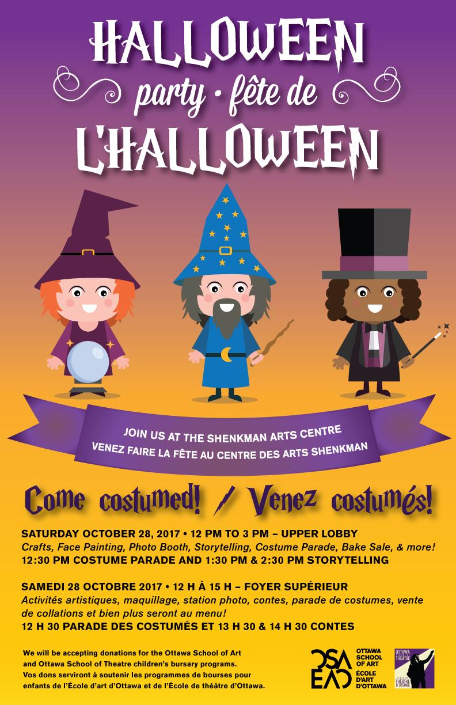 La Fete Halloween.Osa Orleans Halloween Party Ottawa School Of Art école D Art D