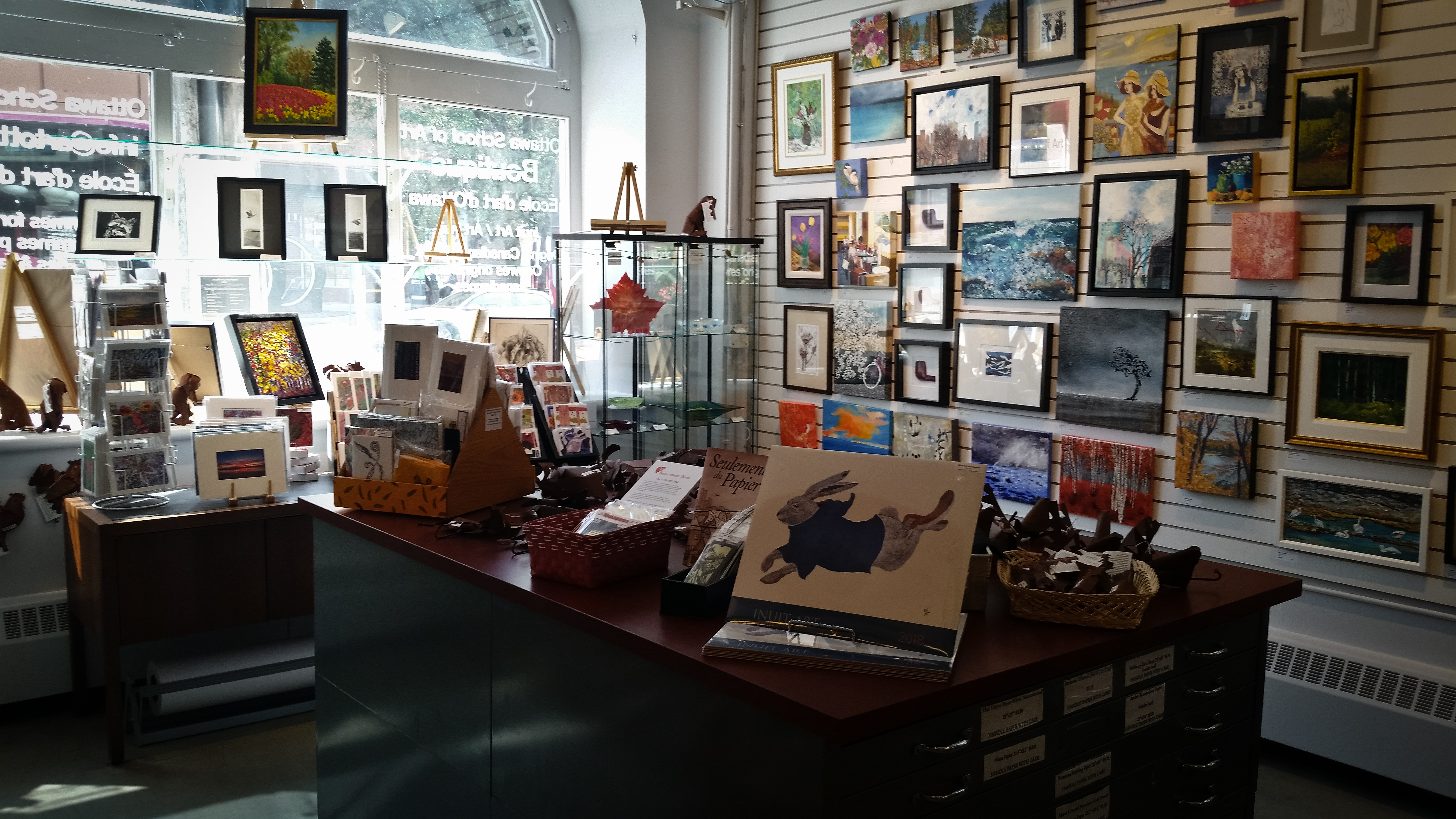 The Ottawa School Of Art Boutique Offers A Wide Variety Artwork Ranging From Oil Acrylic And Watercolour Paintings To Jewelry Sculptures
