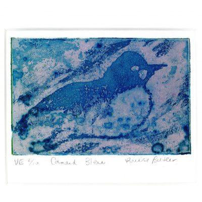 Petit canard bleu VE 2/10