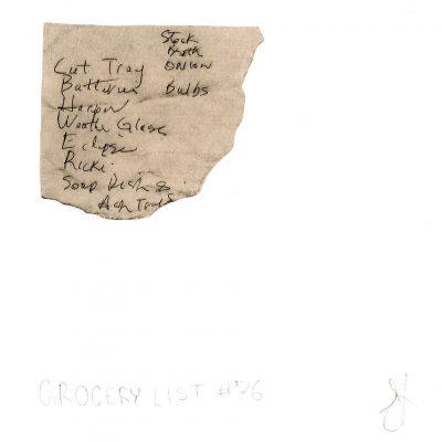 Grocery List #76