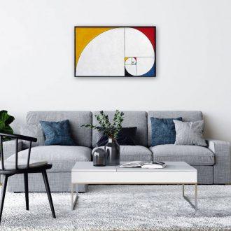 Fibonacci Mondrian Spiral