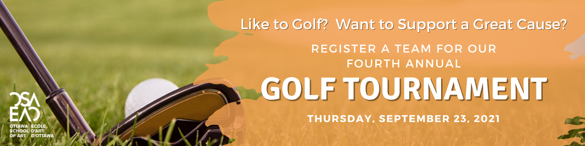 Like to Golf Want to Support a Great Cause